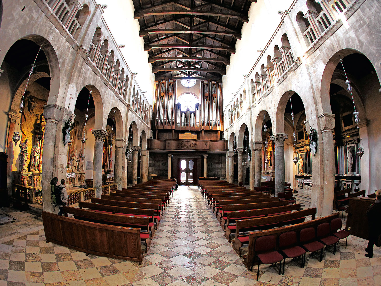 Musica Nota Grad Zadar TZG Zadra katedrala Sveta Stošija