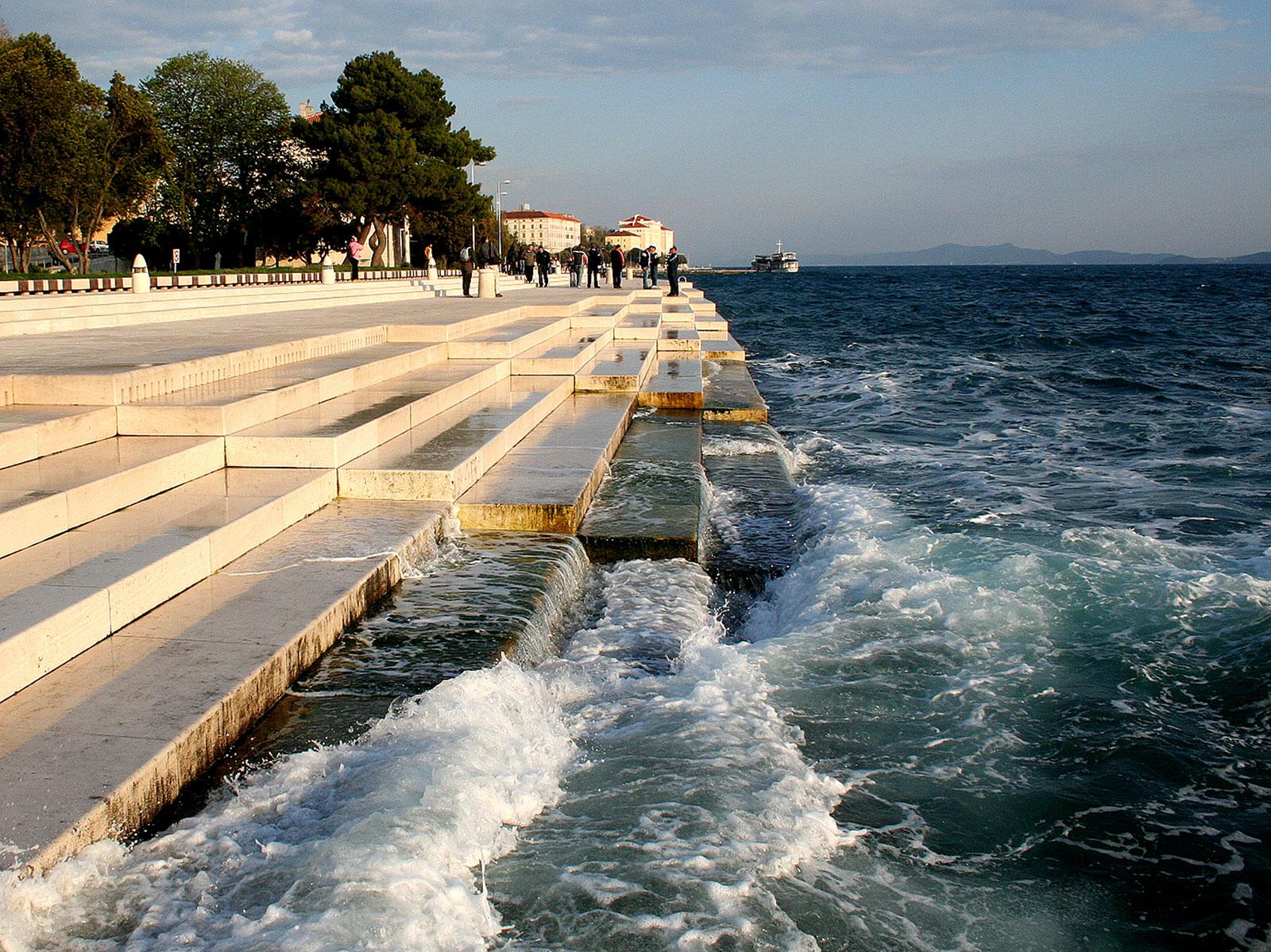 Musica Nota Grad Zadar TZG Zadra Morske orgulje