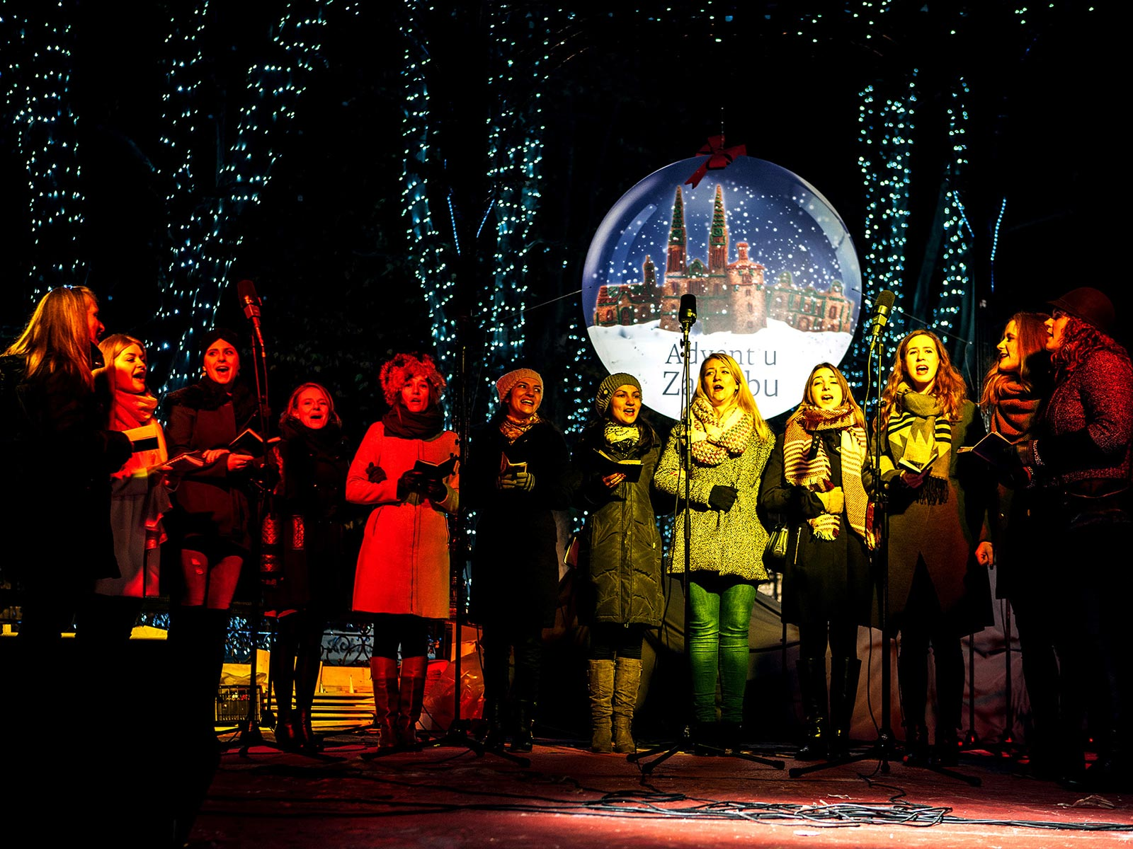 Zwizde3 Glazbeni festival adventskih i božićnih pjesama u Zagrebu 2016. Musica Nota