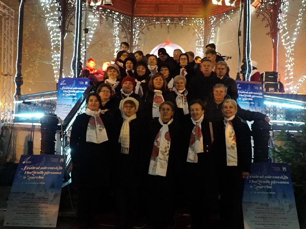 Festival adventskih i božićnih pjesama u Zagrebu 2016 godina Musica Nota Video prilog