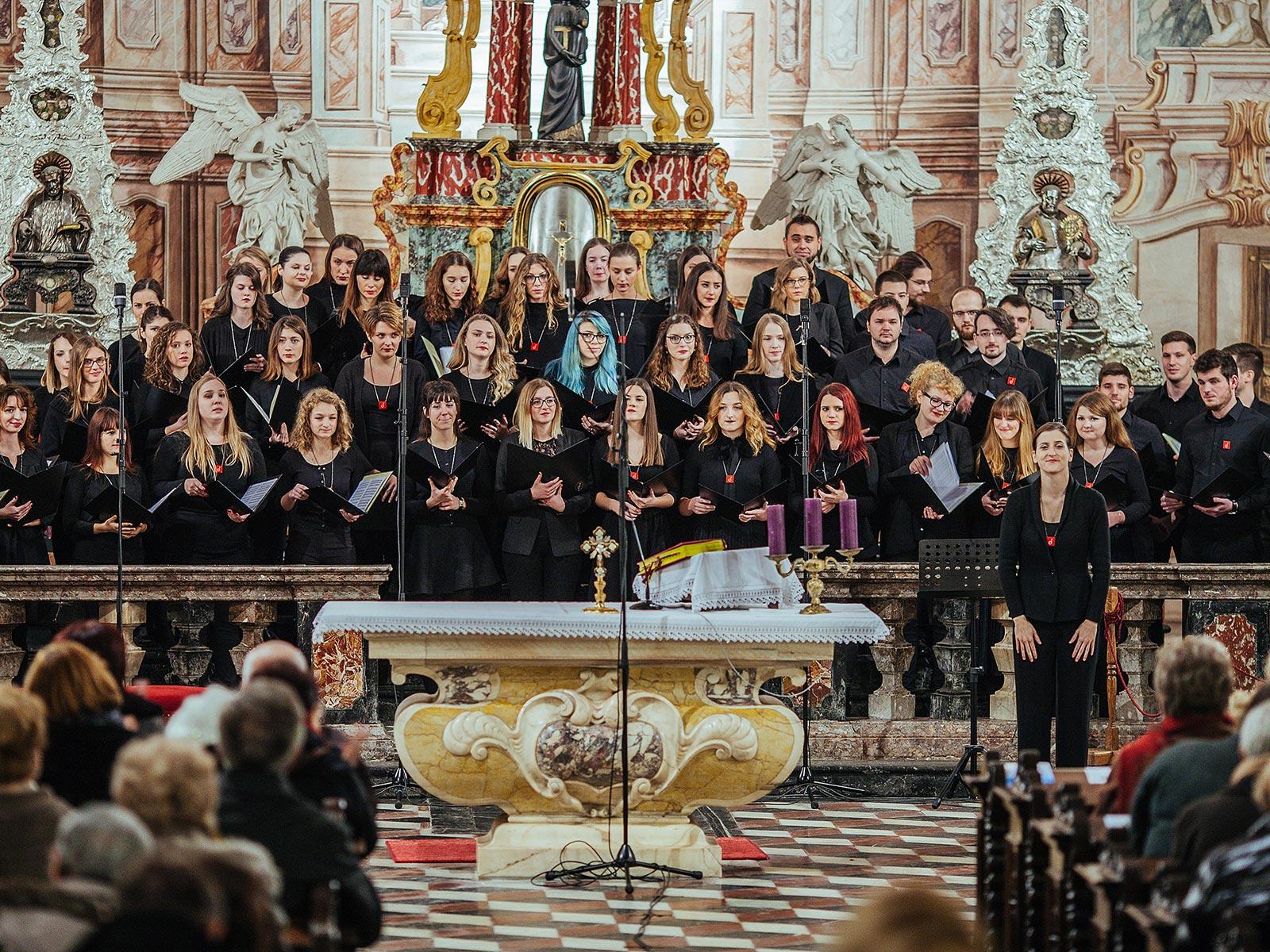 CONCORDIA DISCORS9 Glazbeni festival adventskih i božićnih pjesama u Zagrebu 2016. Musica Nota